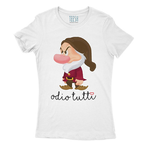 T- Shirt ,Odio tutti