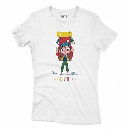 T- Shirt , Go wild