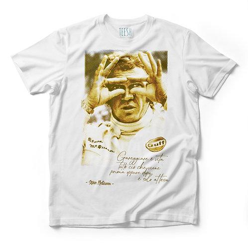 T- Shirt , Gareggiare è vita