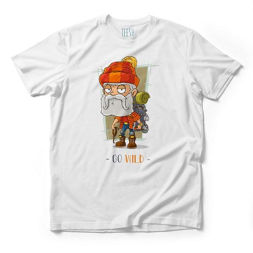 T- Shirt , Go Wild Red