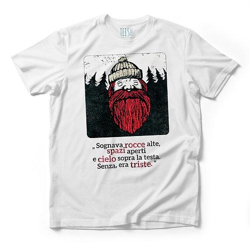 T- Shirt , Sognava rocce alte