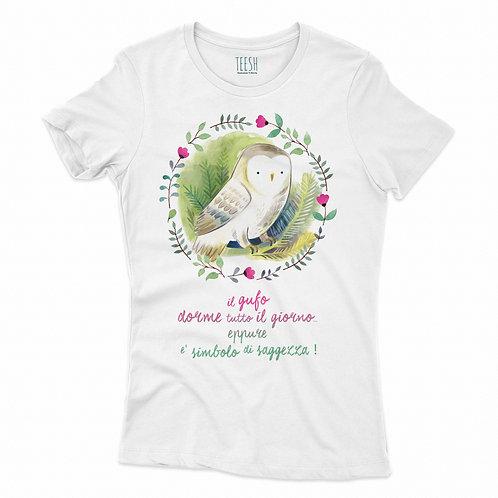 T- Shirt , Il gufo