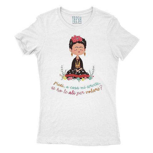 T- Shirt ,Frida, piedi a cosa mi servite