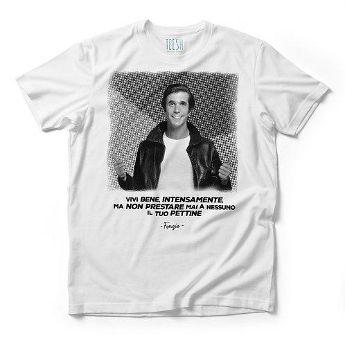 T- Shirt , vivi bene,intensamente