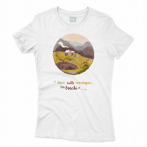 T- Shirt , Lassù sulle montagne
