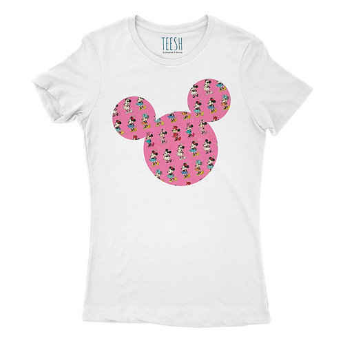 T- Shirt ,Mickey Mouse Pink