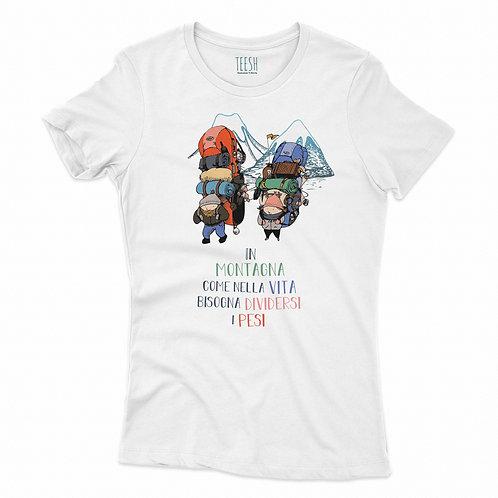 T- Shirt , In montagna come nella vita