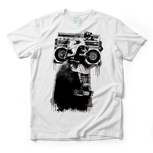 T- Shirt , Dart boombox