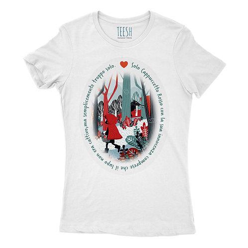 T- Shirt , Solo Cappuccetto Rosso