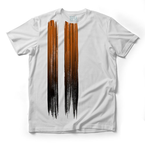 T- Shirt , Abstract ruggine