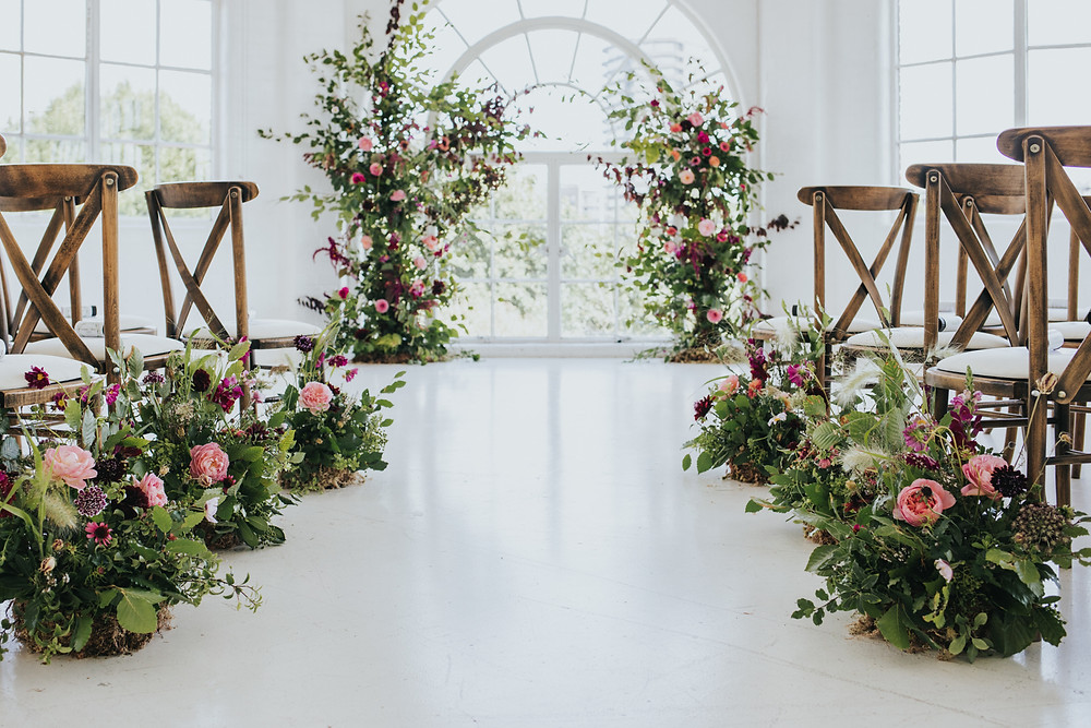 Eco-Friendly Wedding Flowers, JJ Media, London