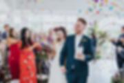 Colourful summer wedding, JJ Media London wedding
