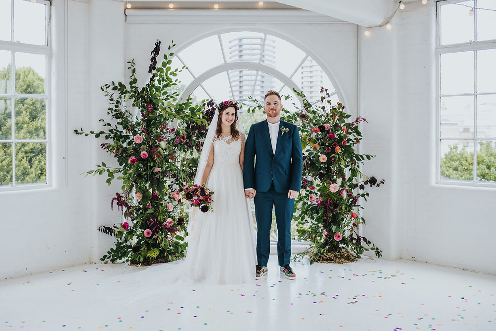 Natural Wedding Flowers, JJ Media, London