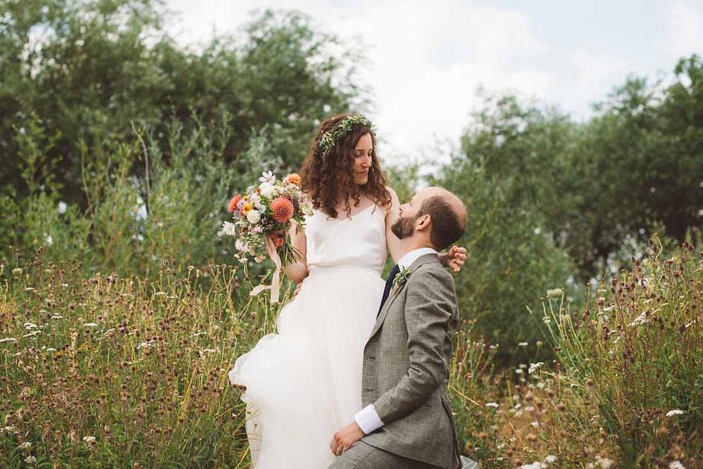 Wildflower Summer Wedding Flowers, Walthamstow Wetlands, London