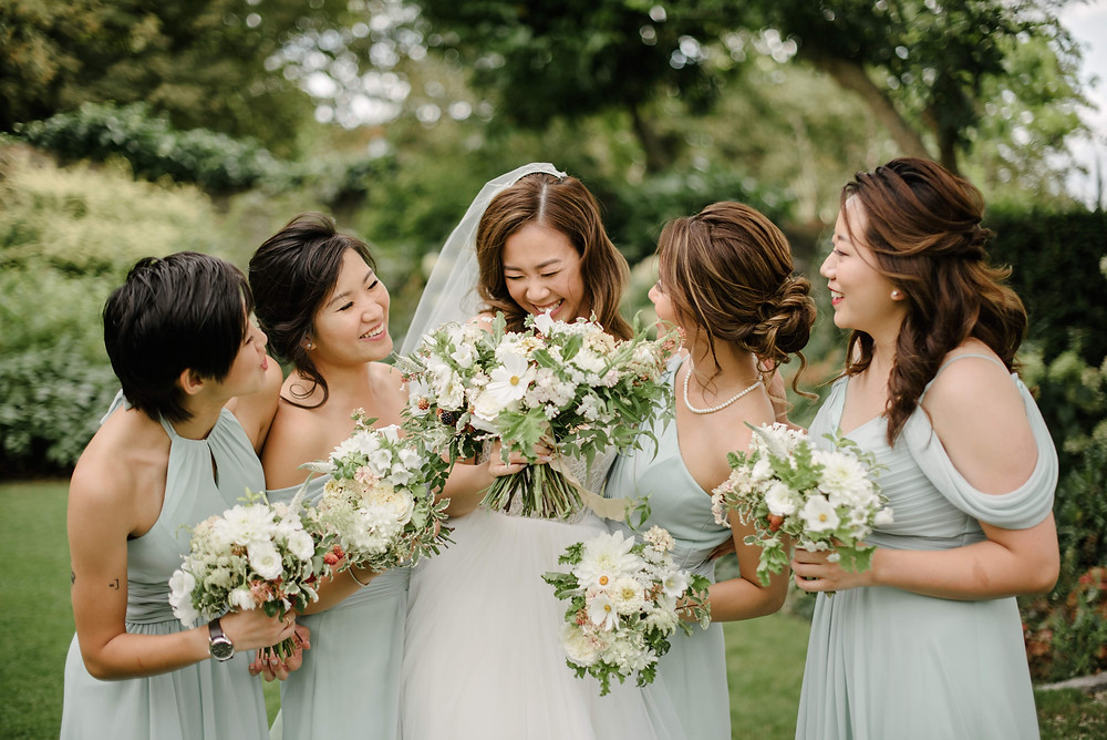 Summer Wedding Flowers, The Bingham, Richmond, London