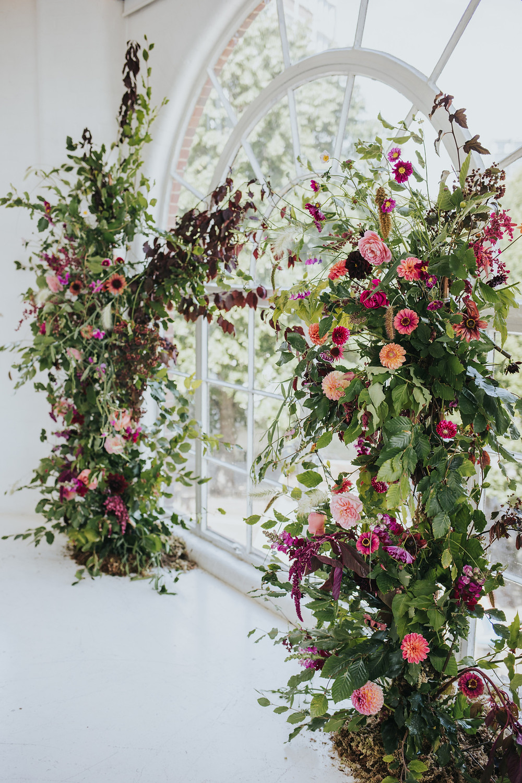 Sustainable Wedding Flowers, JJ Media, London