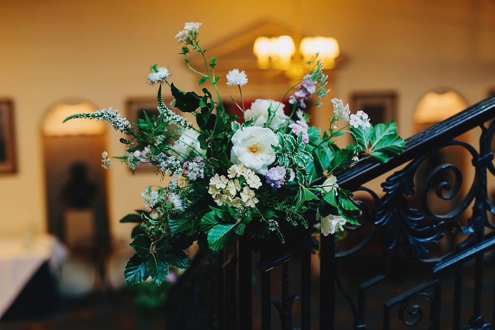 Summer Wedding Flowers, Caledonian Club, London
