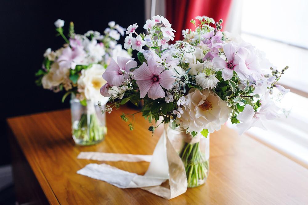Summer Bridal Flowers, London Wedding