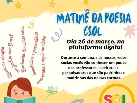 Matinê da Poesia CSOL