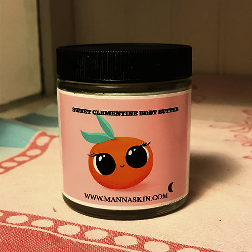 Sweet Clementine Body Butter 3.5 ounces