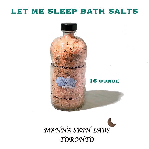 Let me Sleep Bath Salts 16 oz.