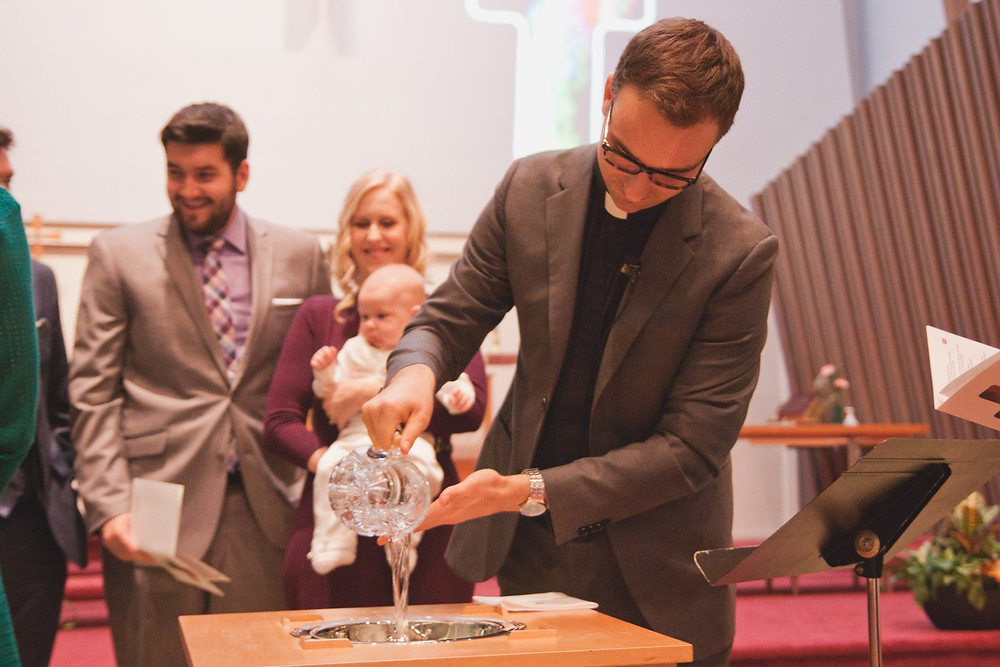 Infant Baptism St Mattias and St Luke Church