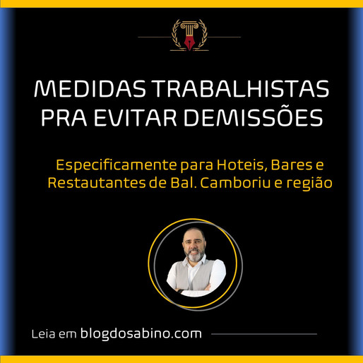 RESUMO TERMO ADITIVO EMERGENCIAL - EMPREGADOS HOTÉIS, BARES, RESTAURANTES, BAL. CAMBORIU E REGIÃO