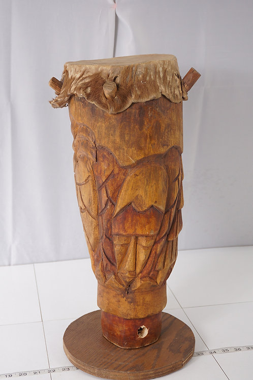 Primitive Hand Made Bongo Drum