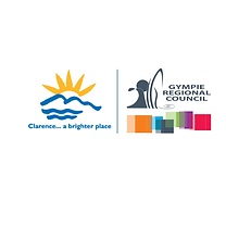 Clarence City Council and Gympe Regional Council Logos