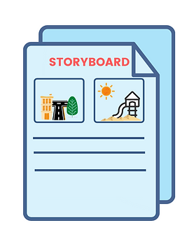 Storyboard Project Symbol.