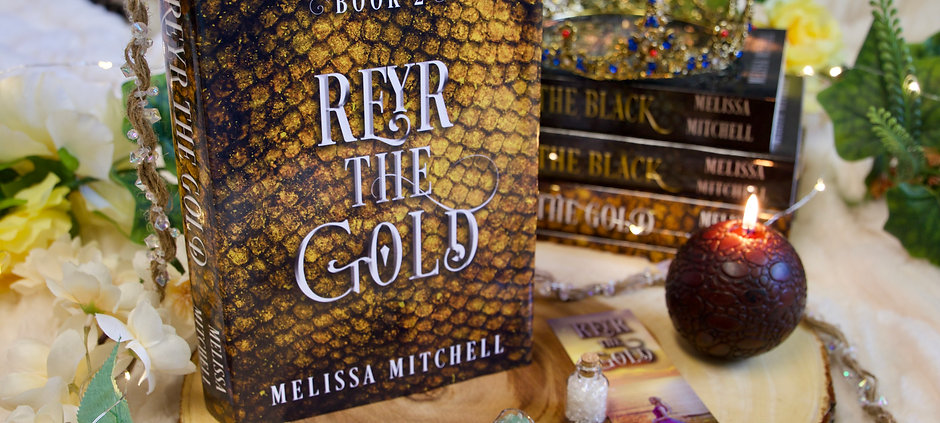 Reyr the Gold - Signed Hardcover