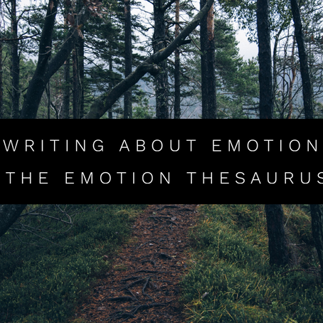 Writing About Emotion: The Emotion Thesaurus