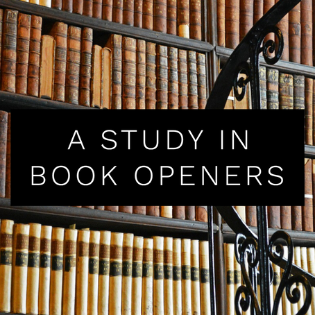 A Study in Book Openers