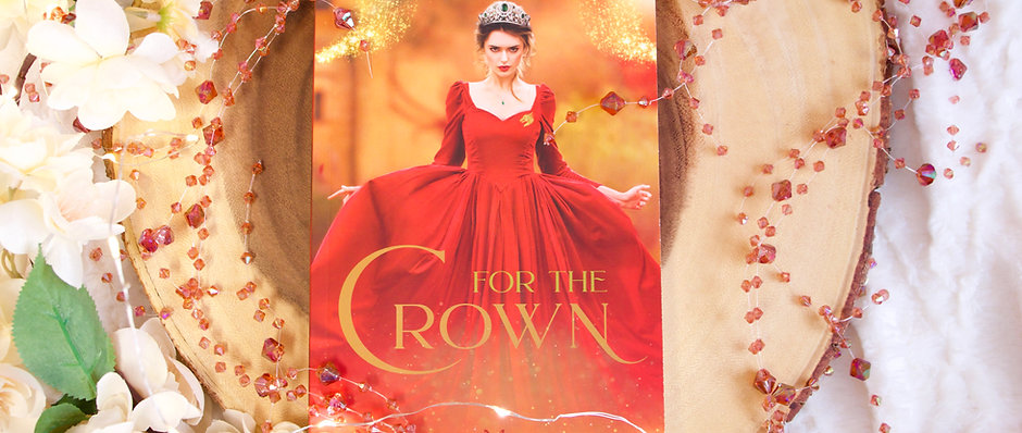 Autographed Paperback For the Crown