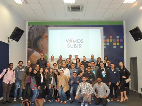 Vendas é Ciência, Workshop do Vamos Subir em parceria com a OmieExperience