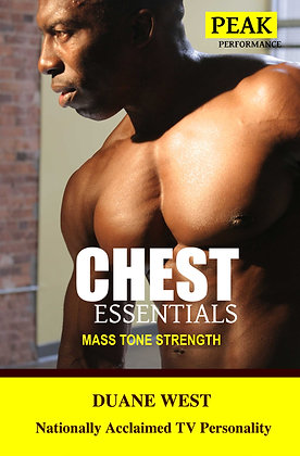 Chest Essentials Fitness Book