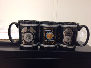 Mug, Black Ceramic (All 3 images on mug)
