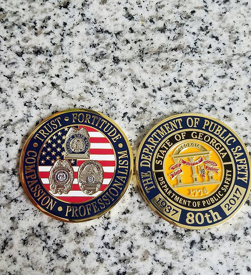 80th Anniversary Challenge Coin