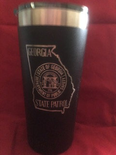 Ozark Trail Black Powder Coated Stainless Steel Tumbler (personalized)