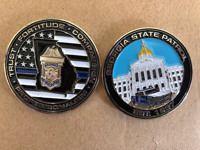 GSP Hat Badge Challenge Coin