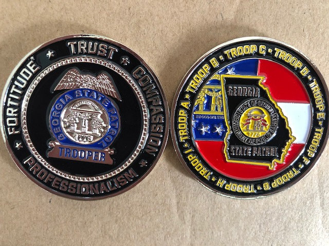 Troops Challenge Coin