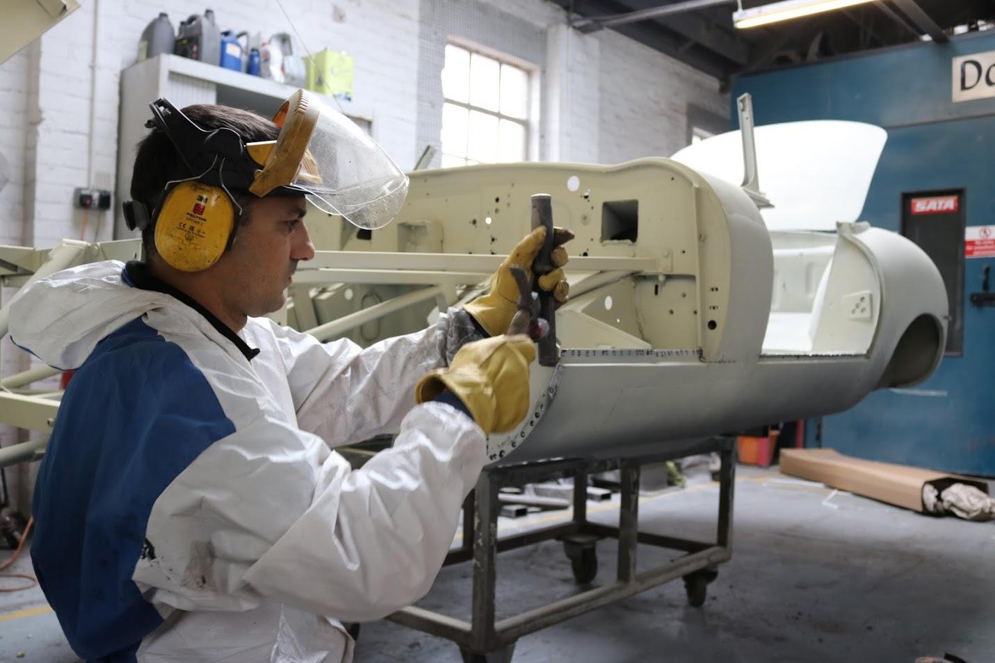 metalwork spot weld drilling