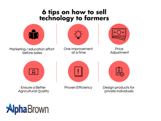 6 Tips on How to Sell Technology to Farmers
