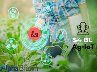 IoT market for agriculture can reach $4 BL - New study