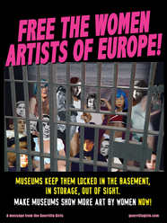 Free the women artists of Europe