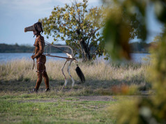 9a Bienal do Mercosul. Performance Cavalos nao mentem. Artista Eduardo Navarro. Espaco Usina do Gasometro