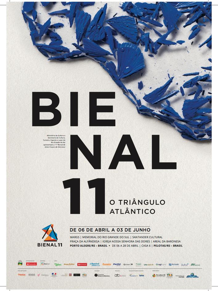Catálogo da 11ª Bienal do Mercosul