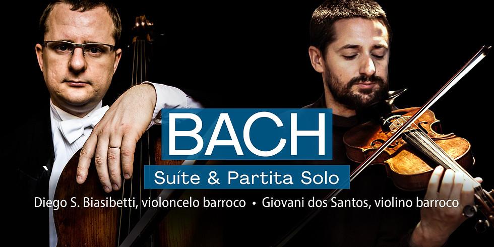 BACH BRASIL #9 - Suíte & Partita Solo