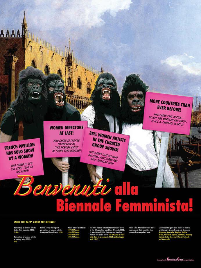 Benvenuti alla Biennale Feminist!(project for the Venice Biennale)