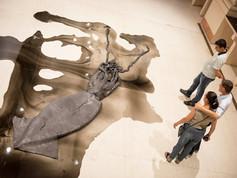 9a Bienal do Mercosul. Obra Sem Titulo (Architeuthis), 2010. Artista David Zink Yi. Espaco